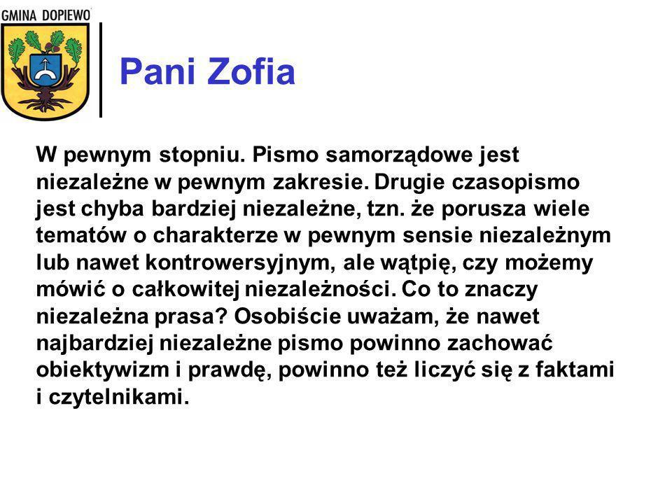 Pani Zofia