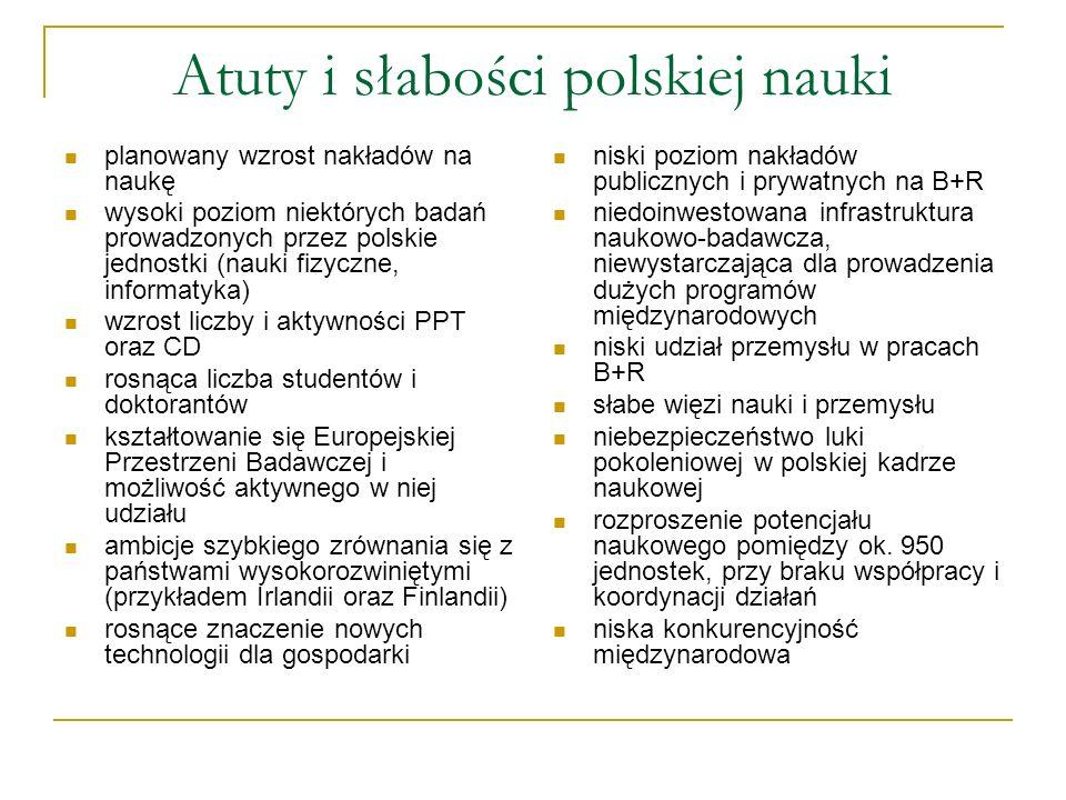 Atuty i słabości polskiej nauki