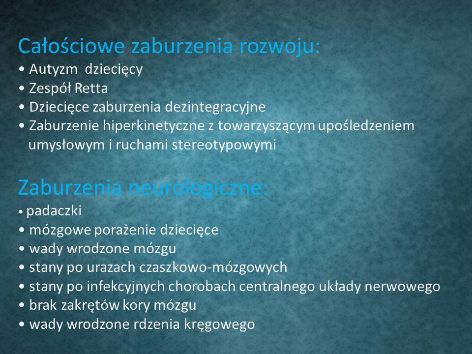 Całościowe zaburzenia rozwoju: