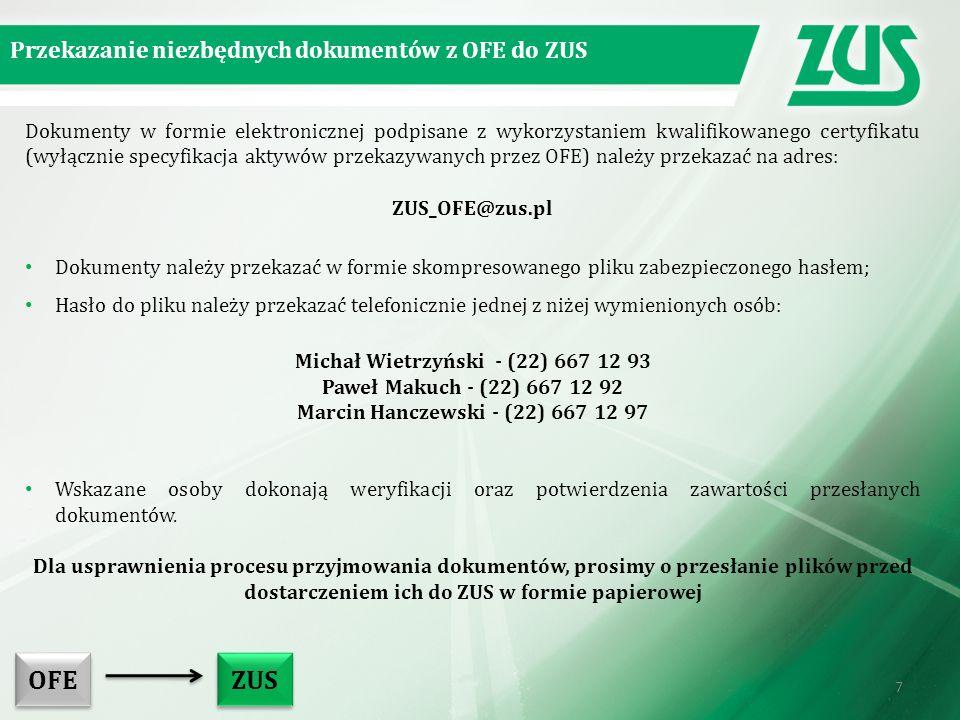 Michał Wietrzyński - (22) 667 12 93