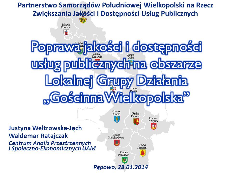 Partnerstwo Samorządów Południowej Wielkopolski na Rzecz Zwiększania Jakości i Dostępności Usług Publicznych
