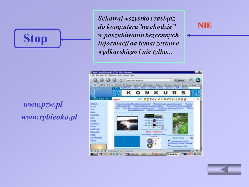Stop NIE www.pzw.pl www.rybieoko.pl