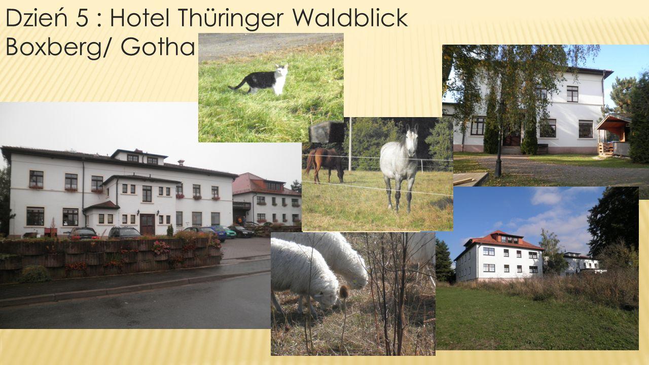 Dzień 5 : Hotel Thüringer Waldblick Boxberg/ Gotha