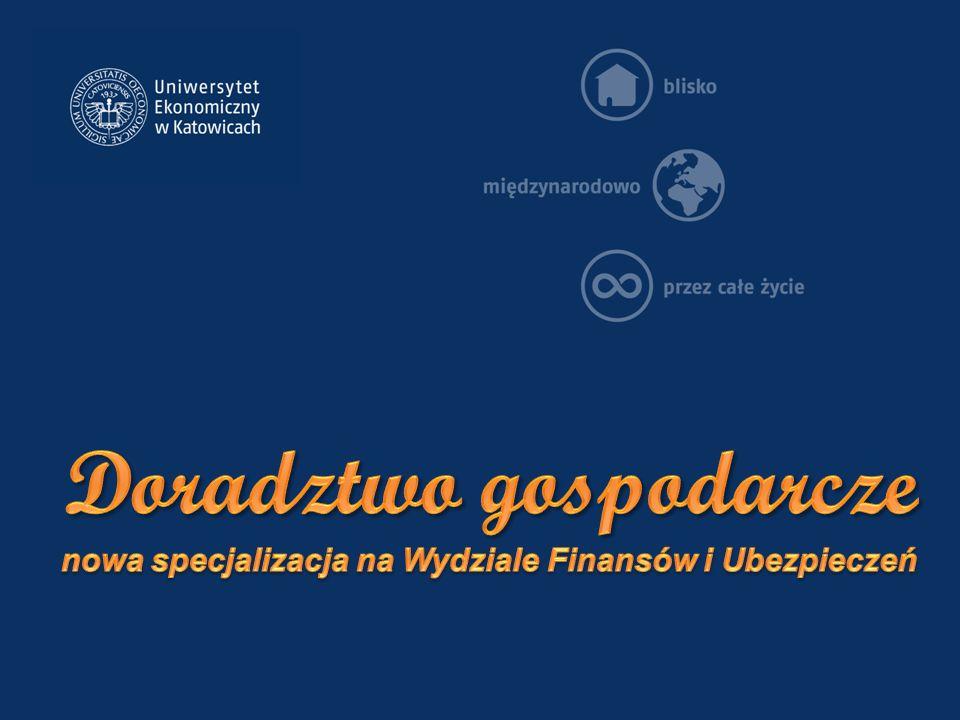 Doradztwo gospodarcze nowa specjalizacja na Wydziale Finansów i Ubezpieczeń