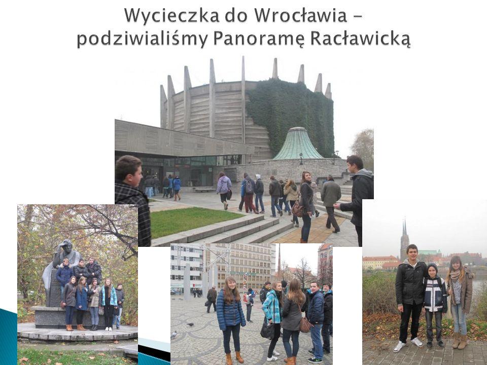 Wycieczka do Wrocławia - podziwialiśmy Panoramę Racławicką