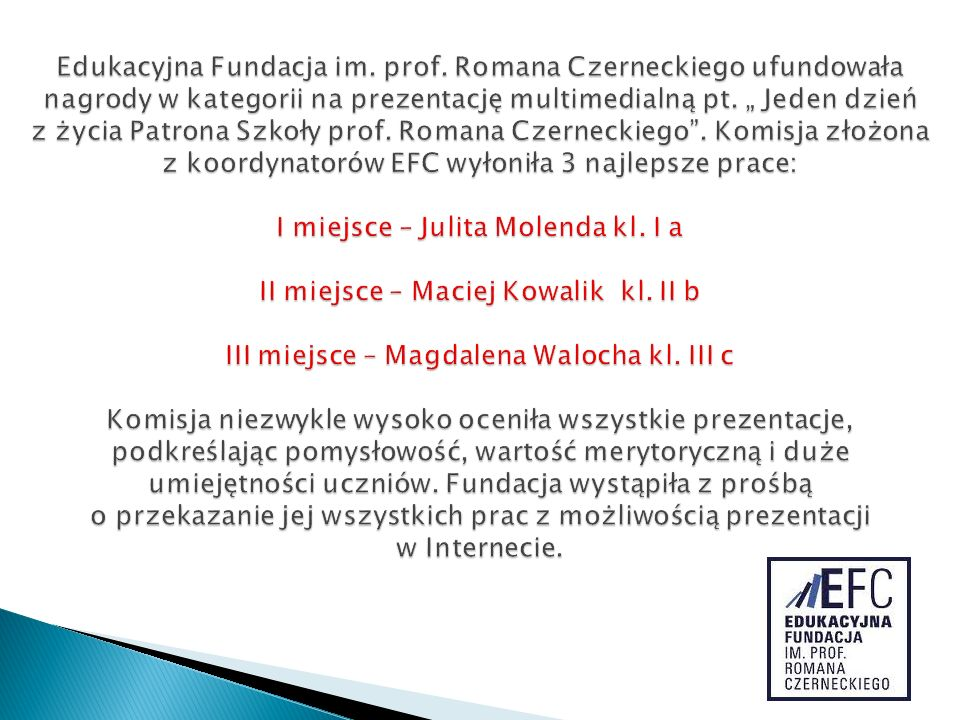 Edukacyjna Fundacja im. prof