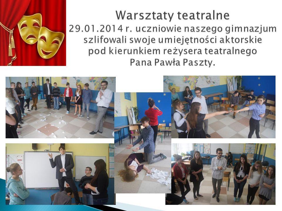 Warsztaty teatralne 29.01.2014 r.