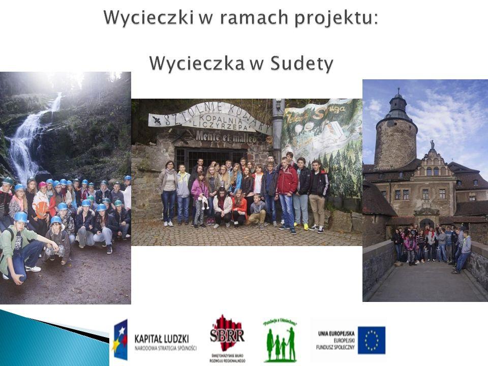 Wycieczki w ramach projektu: Wycieczka w Sudety