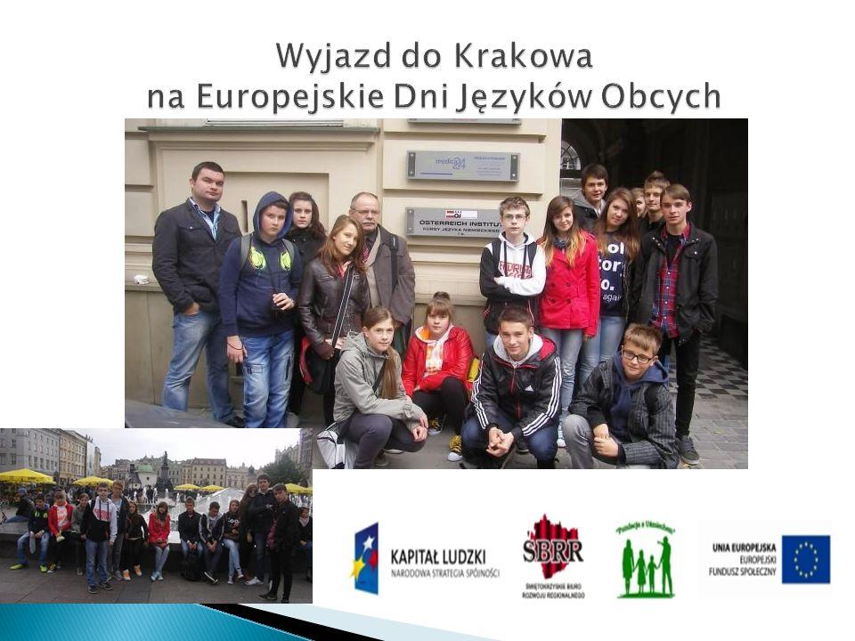 Wyjazd do Krakowa na Europejskie Dni Języków Obcych