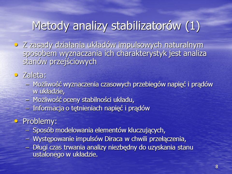 Metody analizy stabilizatorów (1)