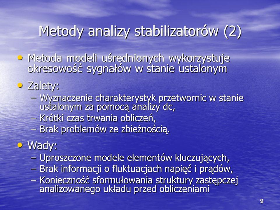 Metody analizy stabilizatorów (2)