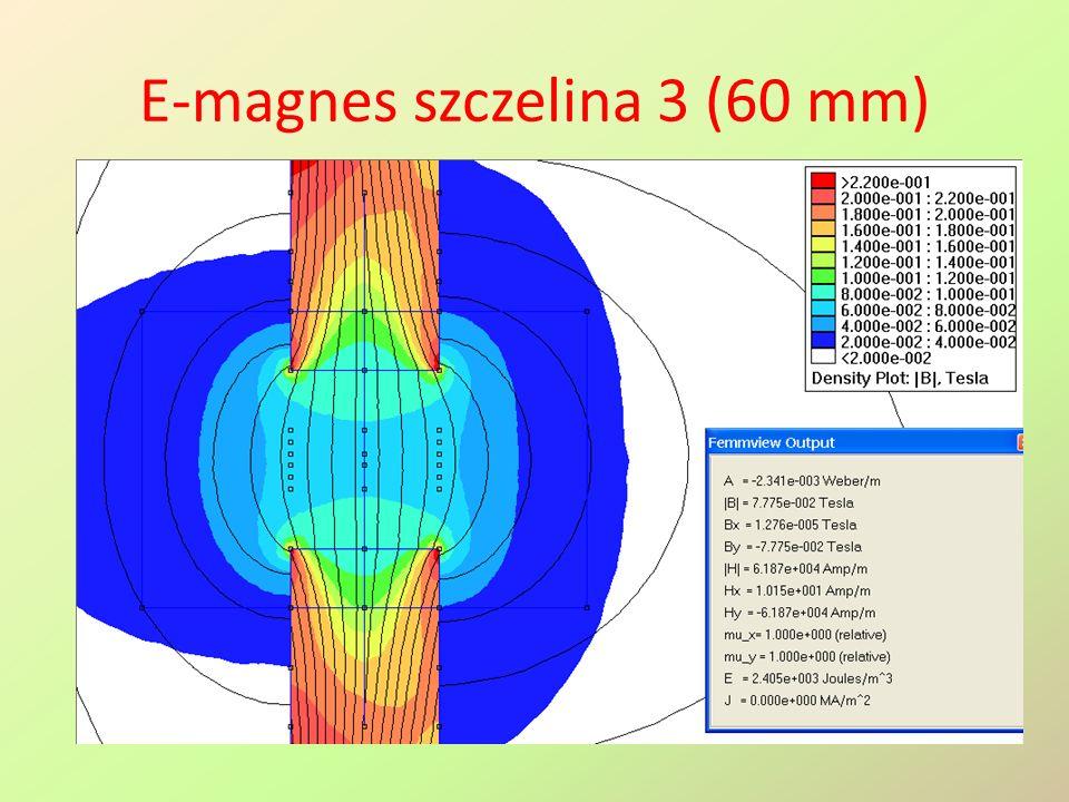 E-magnes szczelina 3 (60 mm)