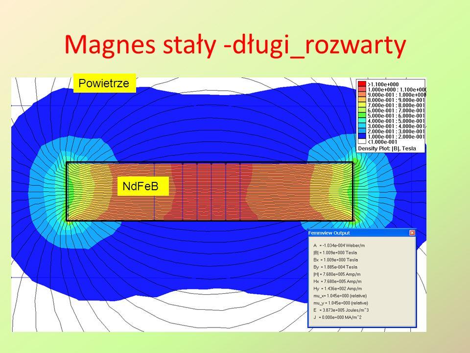 Magnes stały -długi_rozwarty