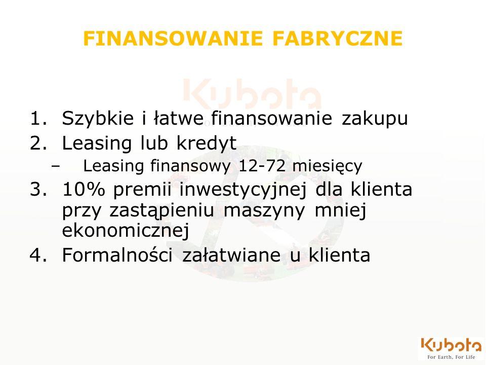FINANSOWANIE FABRYCZNE