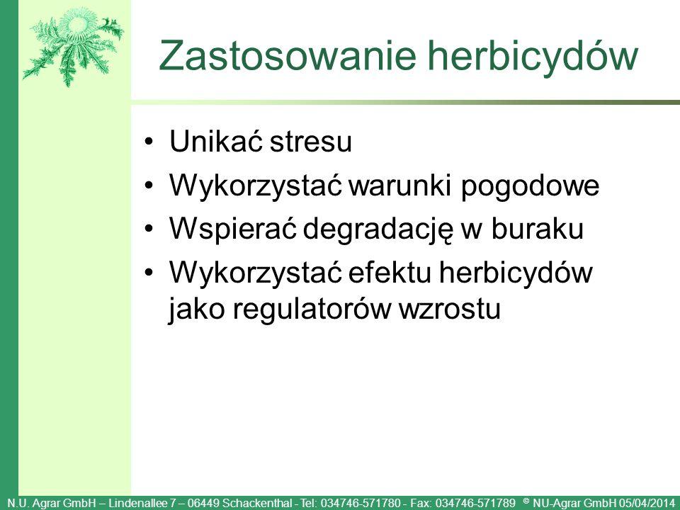 Zastosowanie herbicydów