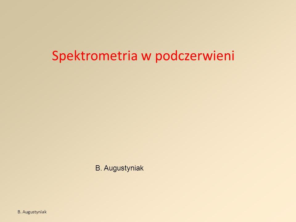 Spektrometria w podczerwieni