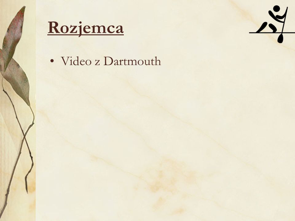 Rozjemca Video z Dartmouth
