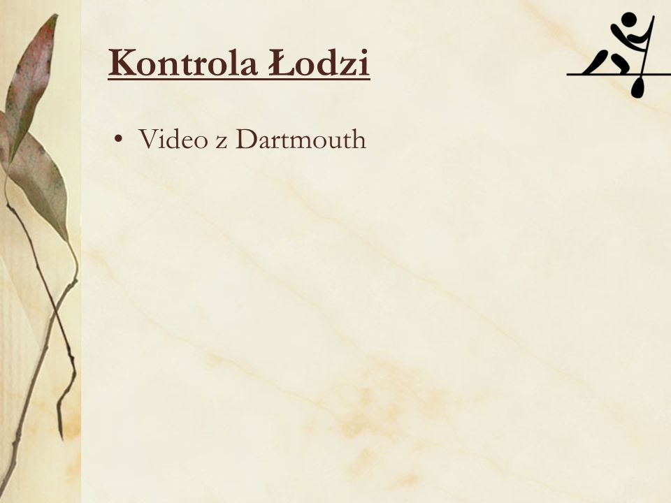 Kontrola Łodzi Video z Dartmouth