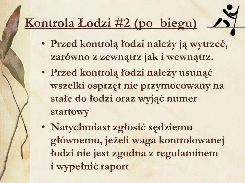 Kontrola Łodzi #2 (po biegu)