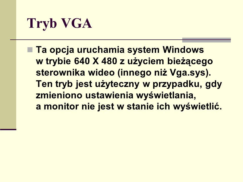 Tryb VGA