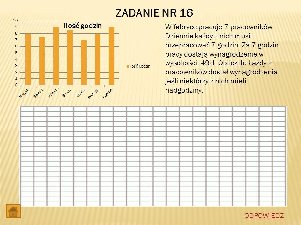 ZADANIE NR 16
