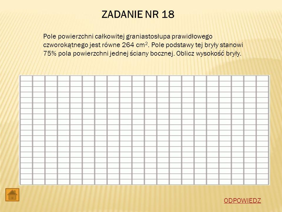 ZADANIE NR 18