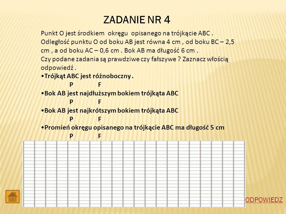ZADANIE NR 4