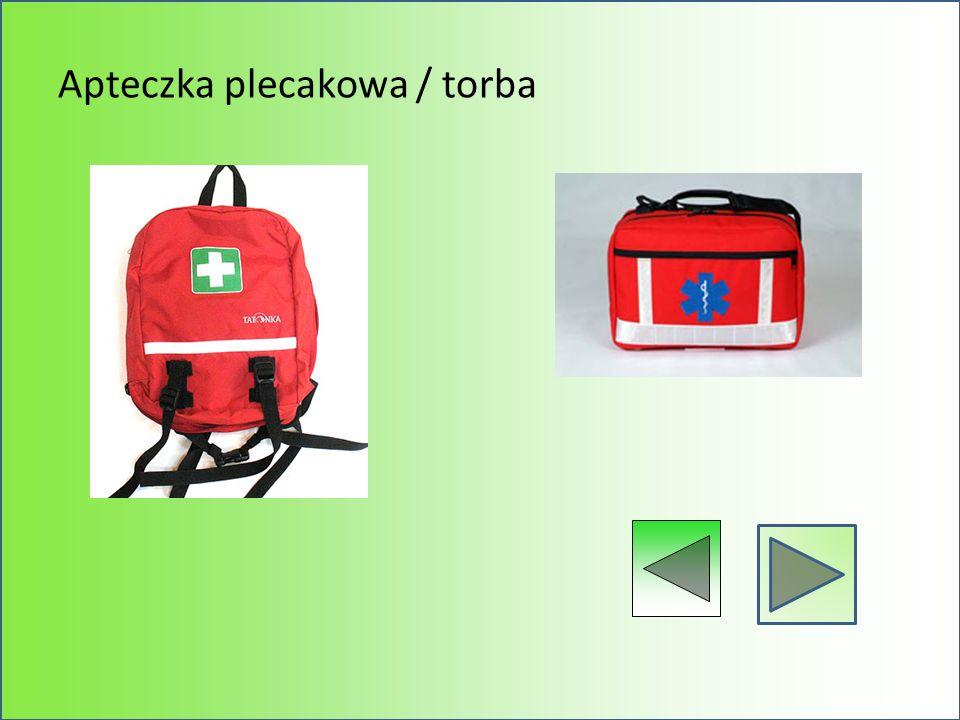 Apteczka plecakowa / torba