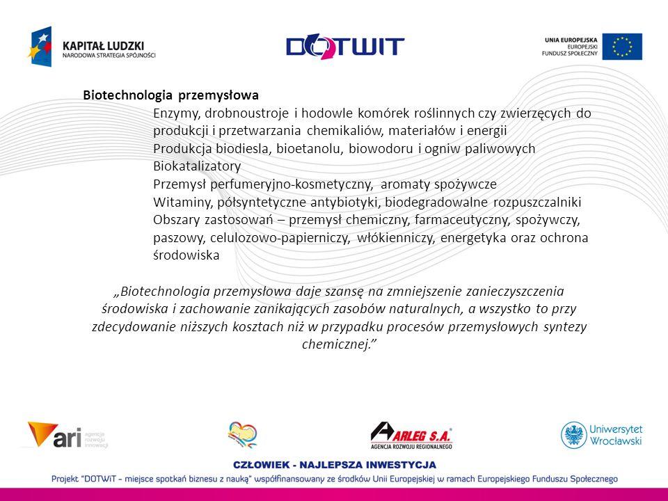 Biotechnologia przemysłowa