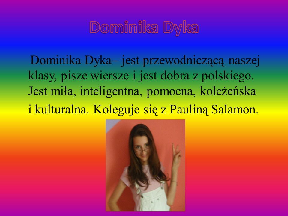 Dominika Dyka