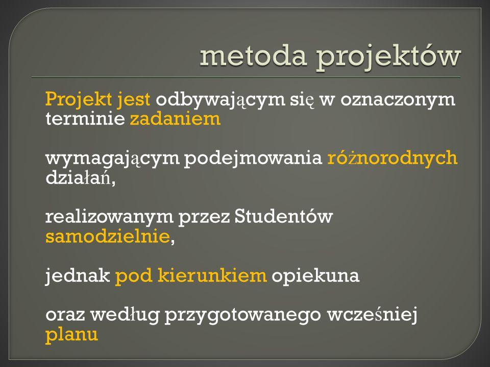 metoda projektów