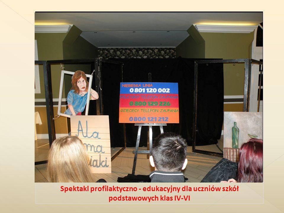 Spektakl profilaktyczno - edukacyjny dla uczniów szkół podstawowych klas IV-VI