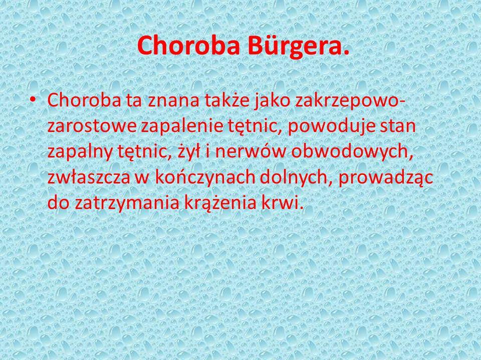 Choroba Bürgera.