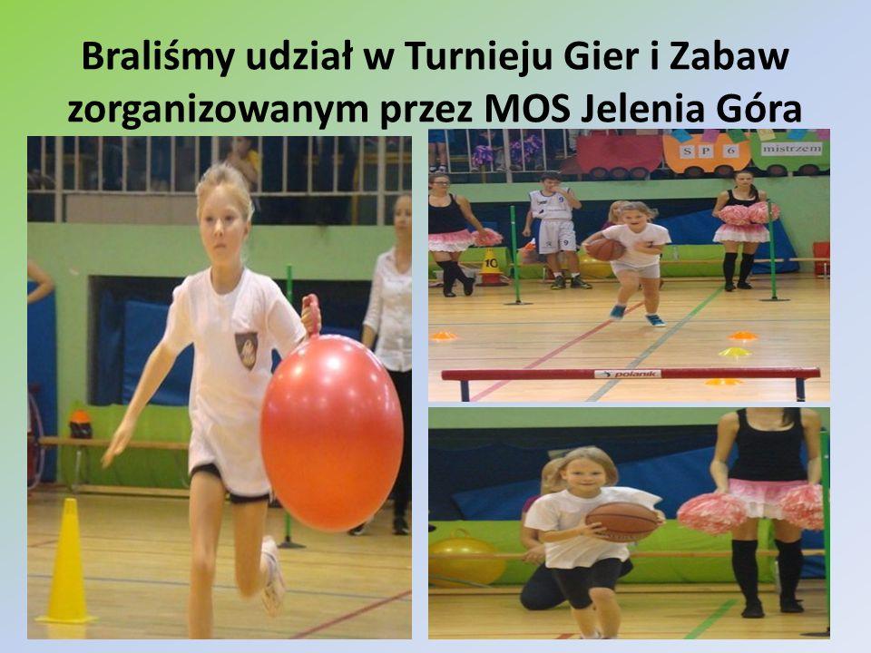Braliśmy udział w Turnieju Gier i Zabaw zorganizowanym przez MOS Jelenia Góra
