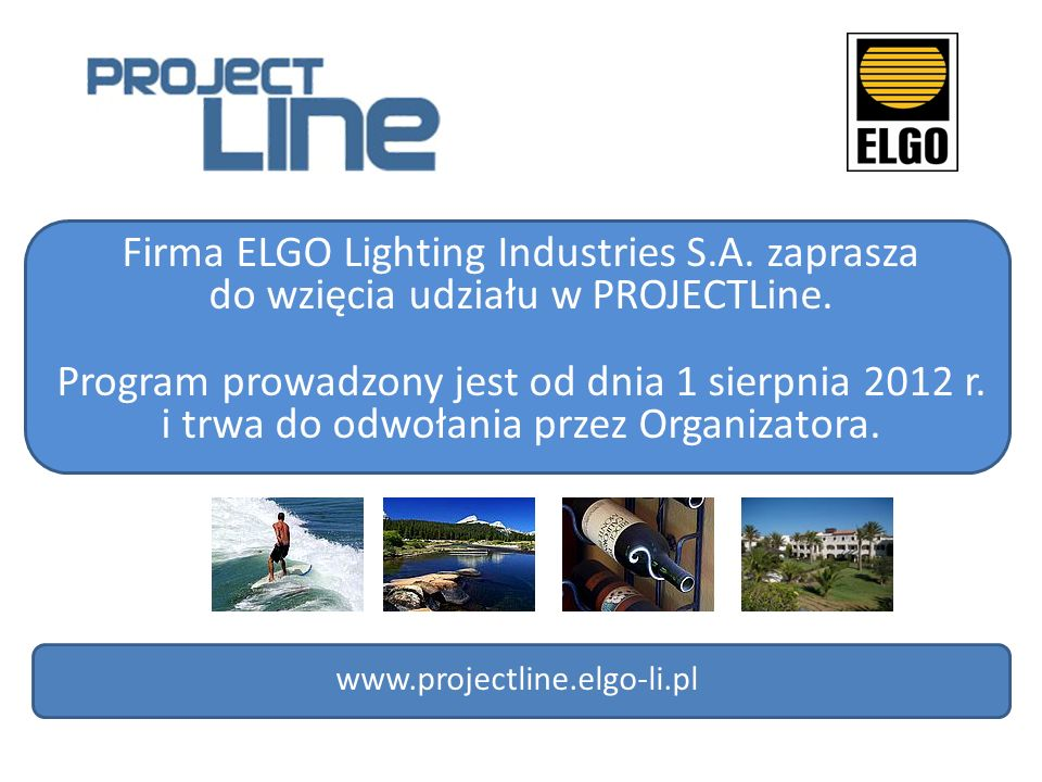 Firma ELGO Lighting Industries S.A. zaprasza
