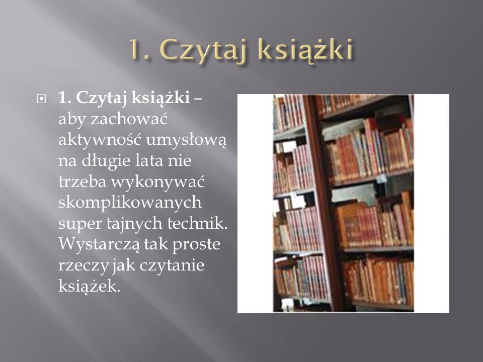 1. Czytaj książki
