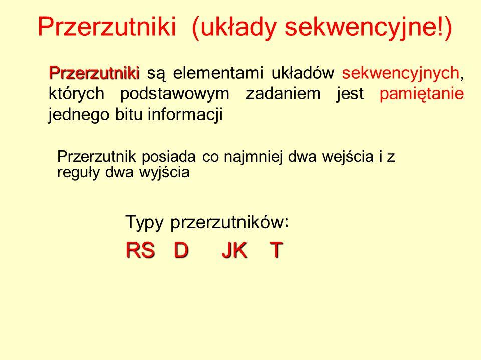 Przerzutniki (układy sekwencyjne!)