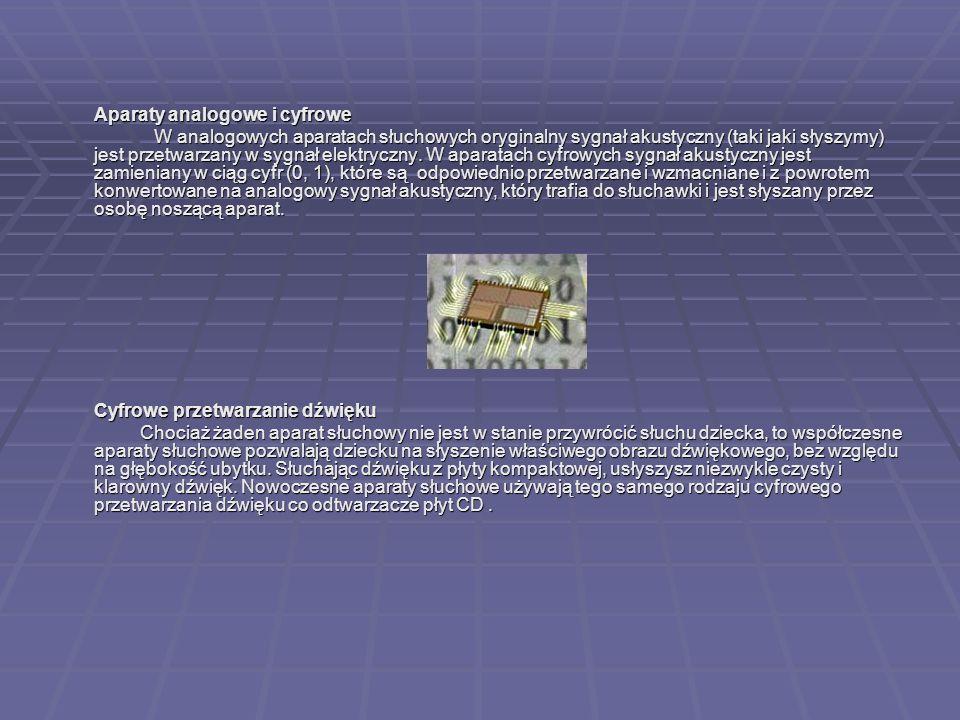 Aparaty analogowe i cyfrowe