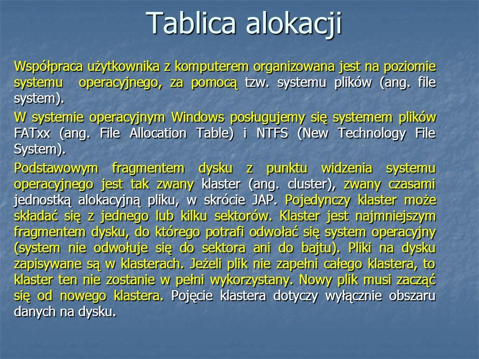 Tablica alokacji