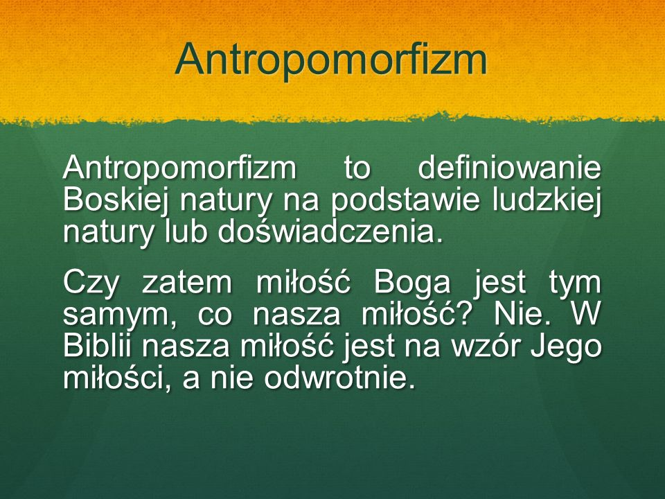Antropomorfizm