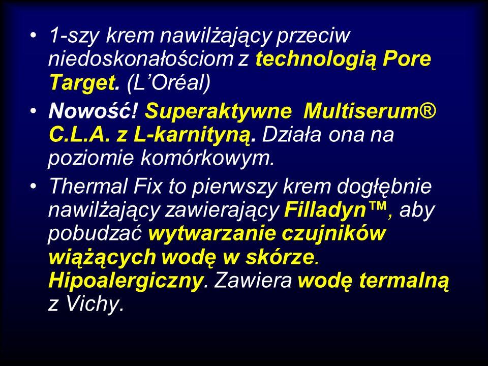 1-szy krem nawilżający przeciw niedoskonałościom z technologią Pore Target. (L'Oréal)