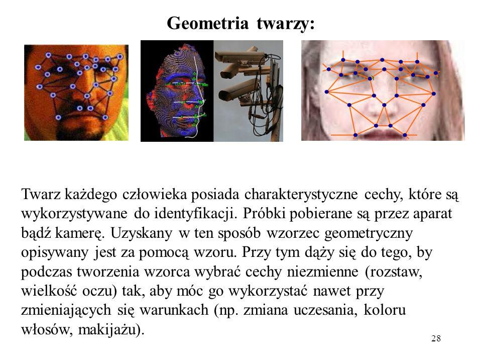 Geometria twarzy: