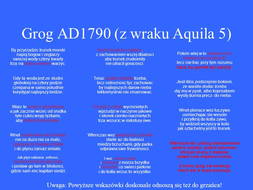 Grog AD1790 (z wraku Aquila 5)