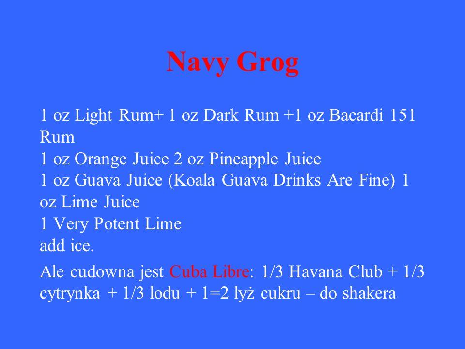 Navy Grog