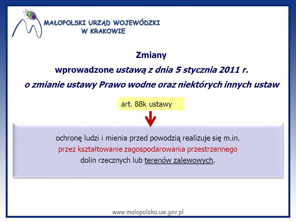 wprowadzone ustawą z dnia 5 stycznia 2011 r.