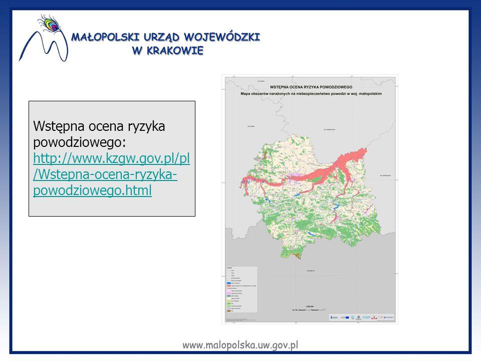 Wstępna ocena ryzyka powodziowego: