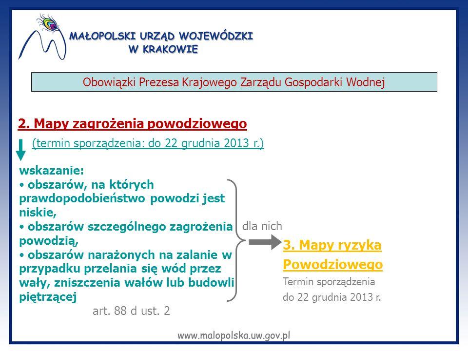 Obowiązki Prezesa Krajowego Zarządu Gospodarki Wodnej