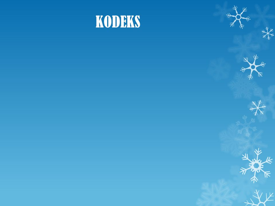 KODEKS