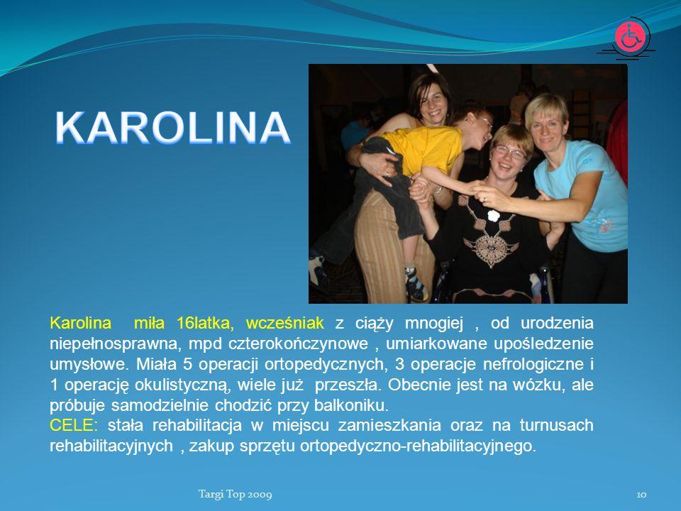 Fundacja Lepsze Dni KAROLINA.