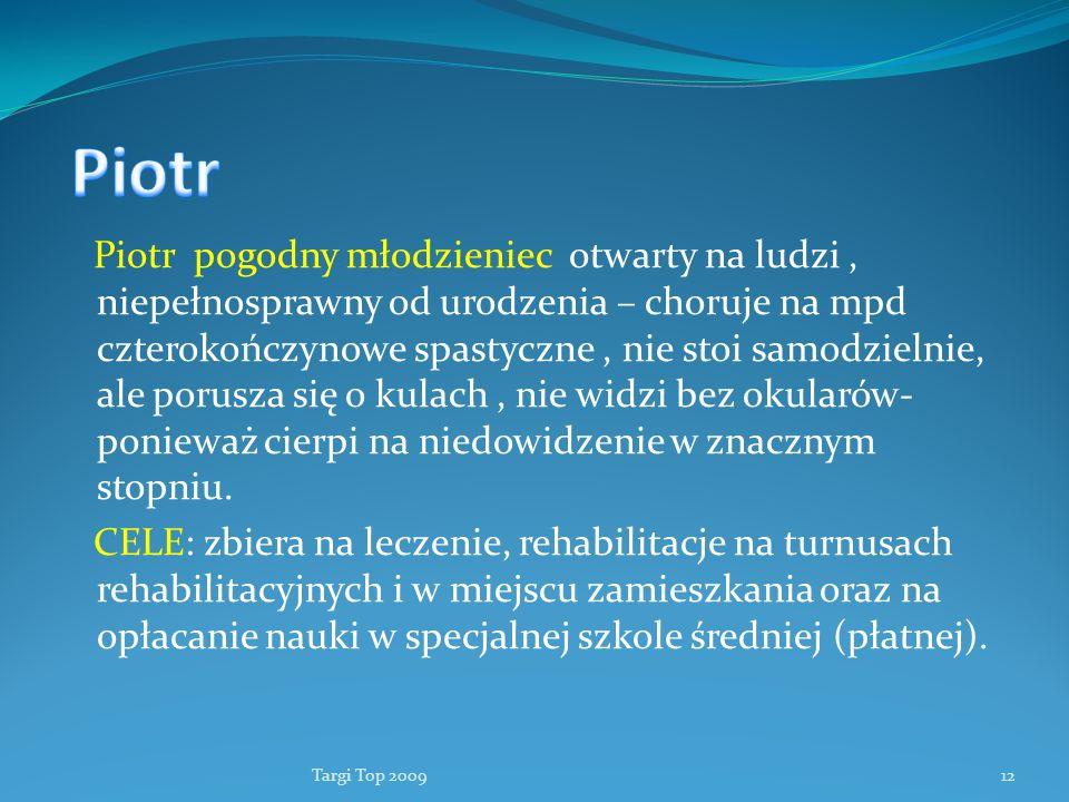 Fundacja Lepsze Dni Piotr.